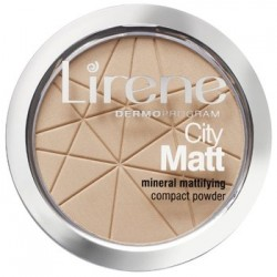 Lirene City Matt 02 NATURAL // mineralny puder matujacy w kamieniu // 9g