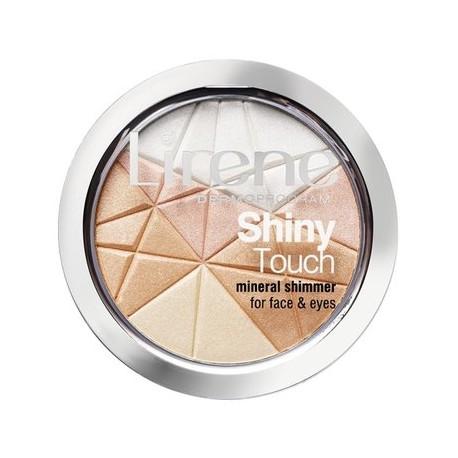 Lirene Shiny Touch // mineralny rozswietlacz do twarzy i oczu // 9g
