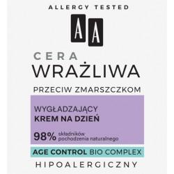 AA  Cera Wrażliwa Przeciw Zmarszczkom //  Krem na dzień WYGŁADZAJĄCY BEZZAPACHOWY // 50 ml.