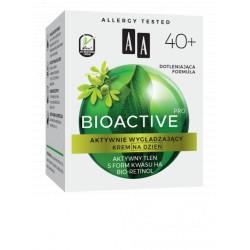 AA Bioactive Pro //   Krem na dzień aktywnie wygładzający 40+// OXYGEN POWER SYSTEM,BIO-RETINOL // 50 ml.