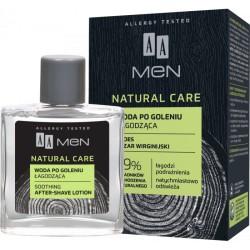 AA MEN NATURAL CARE Woda po goleniu łagodząca // 100 ml