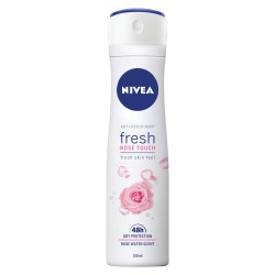 NIVEA anti-perspirant for women  ROSE TOUCH // 48 h Dry protection // Rose Water Scent