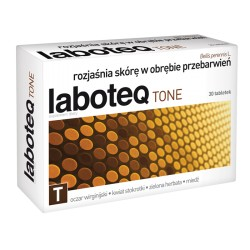 LABOTEQ Tone // rozjasnia skore w obrebie przebarwien // 30 tabletek