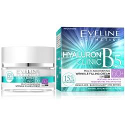Eveline HYALURON CLINIC B5 60+ // Multi-Nourishing wrinkle filling cream // day & night // 50ml