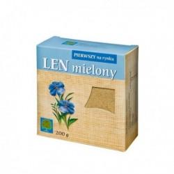LEN MIELONY // Pierwszy na rynku // wysoka zawartosc blonnika i bialka // 200 g