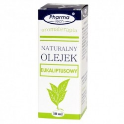 Pharma Tech // Naturalny olejek eukaliptusowy / Aromaterapia / 10 ml