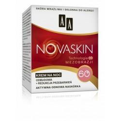 AA Novaskin Technologia Mezobrazji / KREM NA NOC 60+ / Redukcja zmarszczek+regeneracja / Aktywna odnowa naskorka