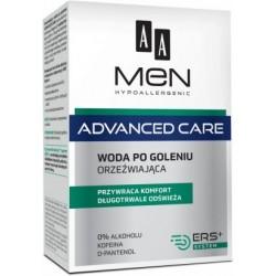 AA Men Advanced Care // Woda po goleniu orzezwiajaca // Przywraca komfort, dlugotrwale odswieza
