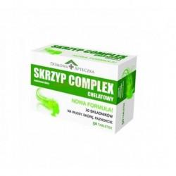 SKRZYP COMPLEX Chelatowy  // na wlosy, skore, paznokcie // 50 tab