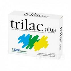 trilac plus//10 kaps.o opoznionym uwalnianiu rozpuszczalnych w jelitach