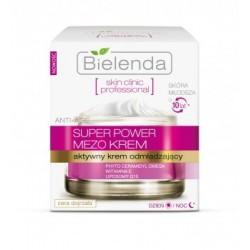 BIELENDA Skin clinic professional SUPER POWER MEZO CREAM // Aktywny krem odmladzajacy